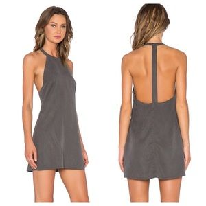 NWT NBD Don't Turn Back Dress in Army Green